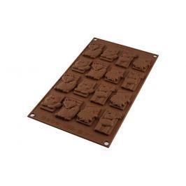 Silikomart Silikonová forma na čokoládu zvířátka winter