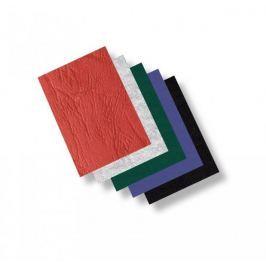 Zadní strana - imitace kůže /100ks zelená A4/250 g