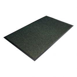 Zelená textilní čistící vnitřní vstupní rohož - 90 x 60 x 0,7 cm