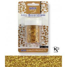 PME Sypání Glitter Flakes - zlaté