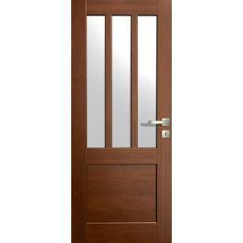 VASCO DOORS Interiérové dveře LISBONA kombinované, model 5, Dub skandinávský, C
