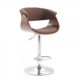 BHM Germany Barová židle Calais textil, coffee, hnědá