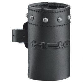 Held zdobený kožený držák na nápoje , černá