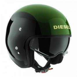 Diesel přilba  HI-JACK černá/zelená vel.XS (53-54cm)