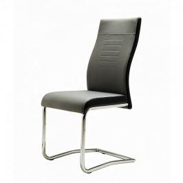 FARELA Jídelní židle Glady, šedá/černá