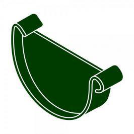 LanitPlast Čelo žlabu RG 125 půlkulaté zelená barva