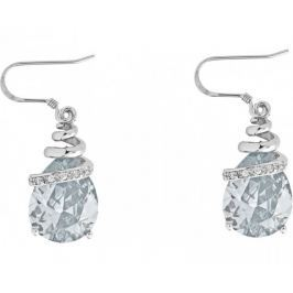 Preciosa Náušnice Elegant White 5027 00 stříbro 925/1000