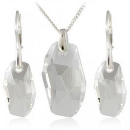 MHM Souprava šperků Meteor Crystal 34183 stříbro 925/1000