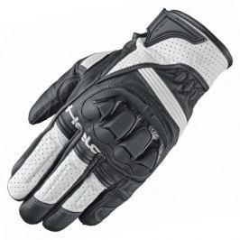 Held rukavice SPOT vel.10 černá/bílá, hovězí/klokaní kůže