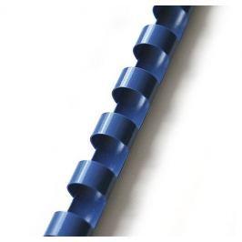 Hřbet pro kroužkovou vazbu 19 mm modrý / 100 ks