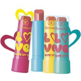 Dermacol Zvláčňující balzám na rty Love Lips SPF 15 3,5 ml (Odstín 08 meruňková, vůně Broskev)