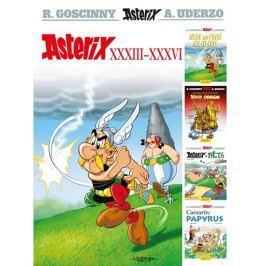 Goscinny R., Uderzo A.,: Asterix XXXIII - XXXVI