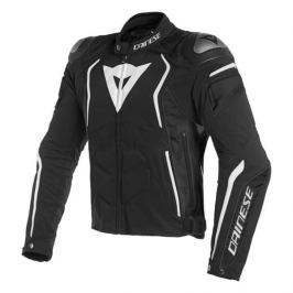 Dainese bunda DYNO TEX vel.52 černá/bílá, textilní