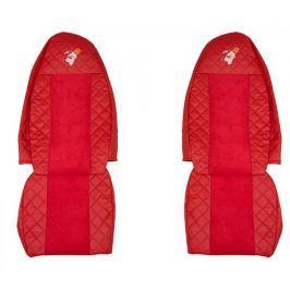 F-CORE Potahy na sedadla FX01, červené
