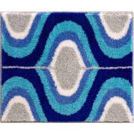 Karim Rashid Luxusní designová česká koupelnová předložka, KARIM 18 50x60 cm, modrá
