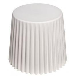 Mørtens Furniture Odkládací stolek Prop, 47 cm, bílá