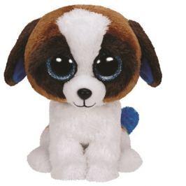TY DUKE - bílohnědý pes 24 cm