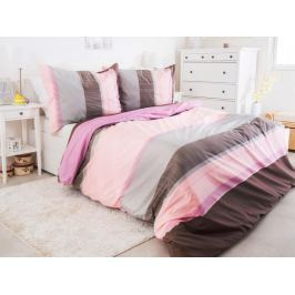 B.E.S. Petrovice Povlečení Pink 140x200 bavlna renforcé