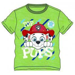 Disney by Arnetta Chlapecké tričko Paw Patrol - zelené 92