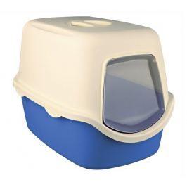 Trixie WC VICO kryté s dvířky modrá krémová