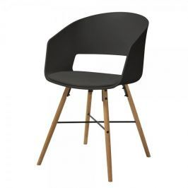 Danish Style Jídelní židle Nadja (SET 2 ks), černá