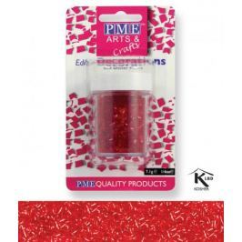 PME Sypání Glitter Flakes - červené