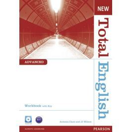 Clare Antonia: New Total English Advanced Workbook with Key and Audio CD Pack