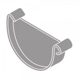LanitPlast Čelo žlabu RG 150 půlkulaté šedá barva