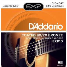 Daddario EXP10 Kovové struny pro akustickou kytaru