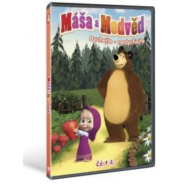 Máša a medvěd 4: Dýchejte nedýchejte   - DVD