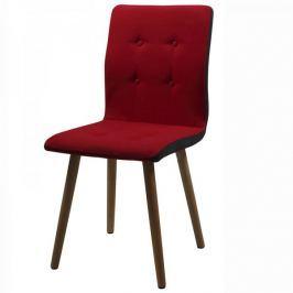 Design Scandinavia Jídelní židle Fredy (SET 2 ks), červená