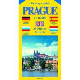 Beneš Jiří: City map - guide PRAGUE 1:16 000 (angličtina, němčina, ruština, španělština, holandština