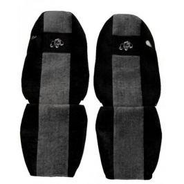 F-CORE Potahy na sedadla PS08, šedé