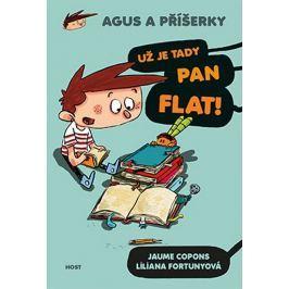 Copons Jaume: Agus a příšerky 1 - Už je tady pan Flat!