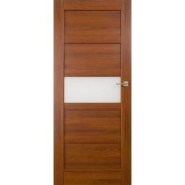 VASCO DOORS Interiérové dveře BRAGA kombinované, model A, Kaštan, A