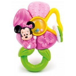Clementoni Minnie - růžové chrastítko kytka