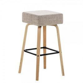 BHM Germany Barová židle Lucana, krémová
