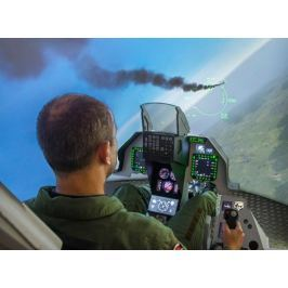 Poukaz Allegria - simulátor F16 s armádním pilotem - 90 min. Praha