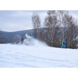 Poukaz Allegria - motoskijöring - adrenalin na lyžích