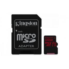 Kingston 128GB Canvas React microSDXC UHS-I V30 + ad (SDCR/128GB)
