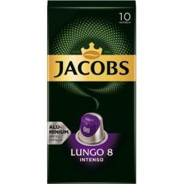 Jacobs Lungo Intenso Intenzita 8 - 100 hliníkových kapslí kompatibilních s kávovary Nespresso® *