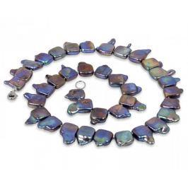 JwL Luxury Pearls Náhrdelník z extravagantních pravých perel JL0139 stříbro 925/1000