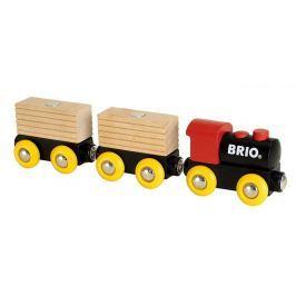 Brio 33409 Vláček se dvěma vagónky