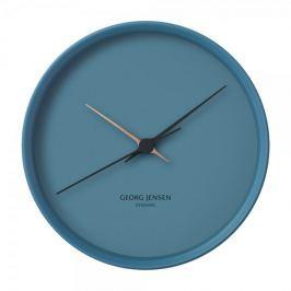Georg Jensen Nástěnné hodiny HK, modré, 22 cm