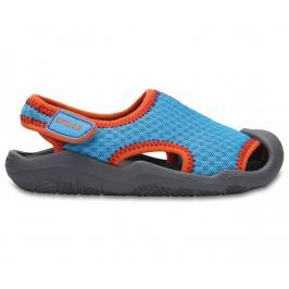 Crocs Swiftwater Sandal Kids Blue C7 23-24