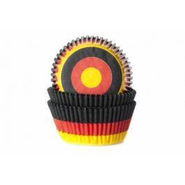 House of Marie Papírový košíček na muffiny vlajka Německo 50ks