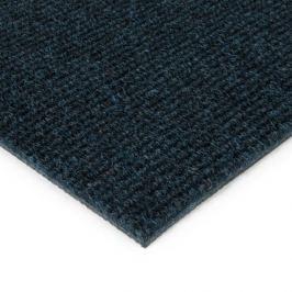 FLOMAT Modrá kobercová vnitřní čistící zóna Catrine - 100 x 100 x 1,35 cm