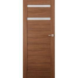 VASCO DOORS Interiérové dveře EVORA kombinované, model 2, Merbau, A
