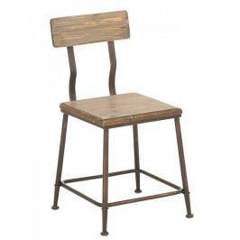 BHM Germany Jídelní židle s bronzovou podnoží King (SET 2 ks)