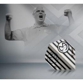 XQMax Darts Letky Michael van Gerwen - MvG Transparent white F2507